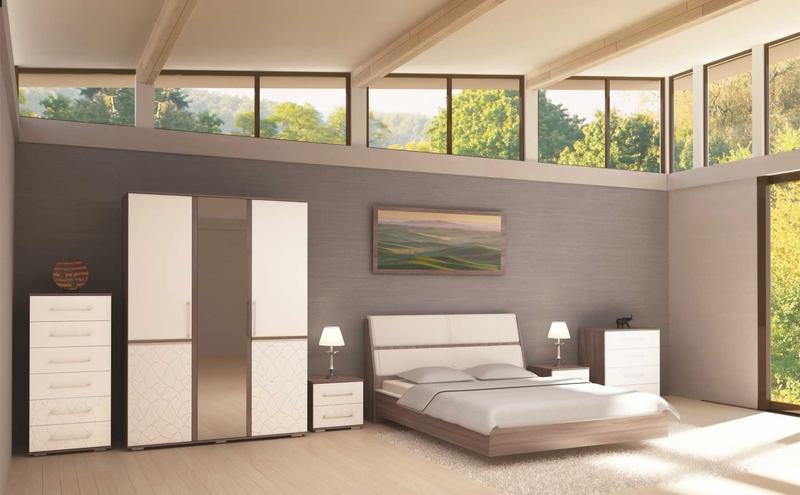 модульная спальня кристалл купить недорого в екатеринбурге фото